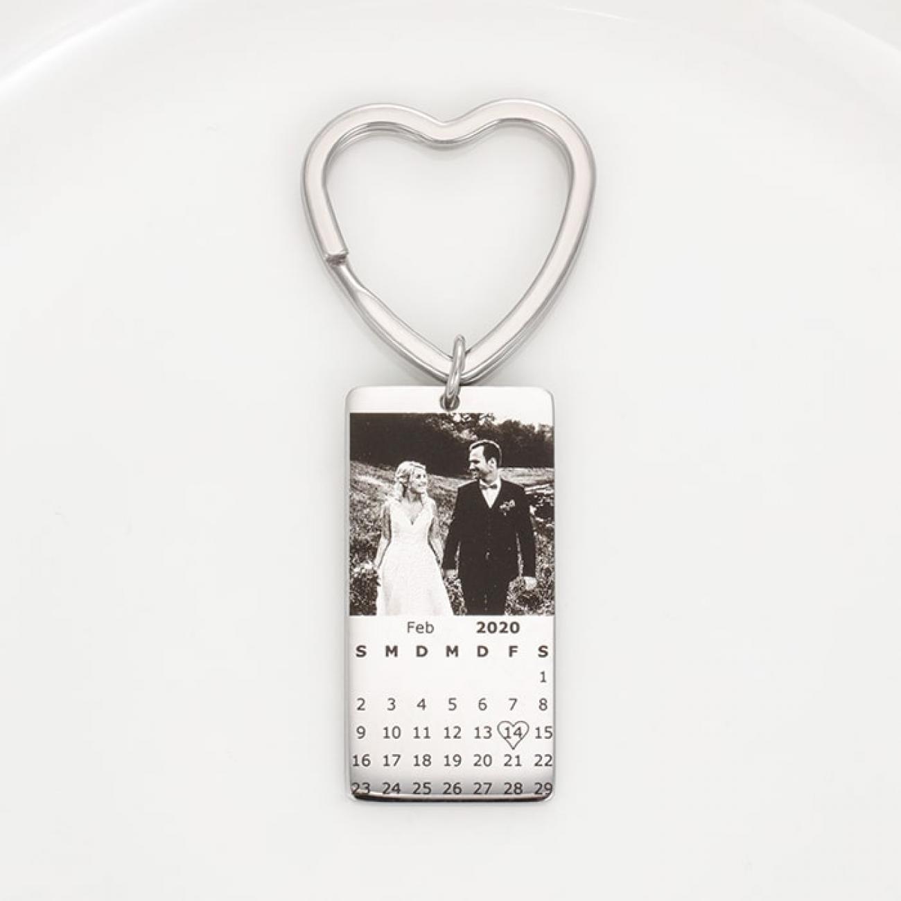 Kalender Foto Schlüsselanhänger