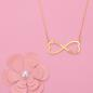 Preview: Heart Infinity Name Necklace