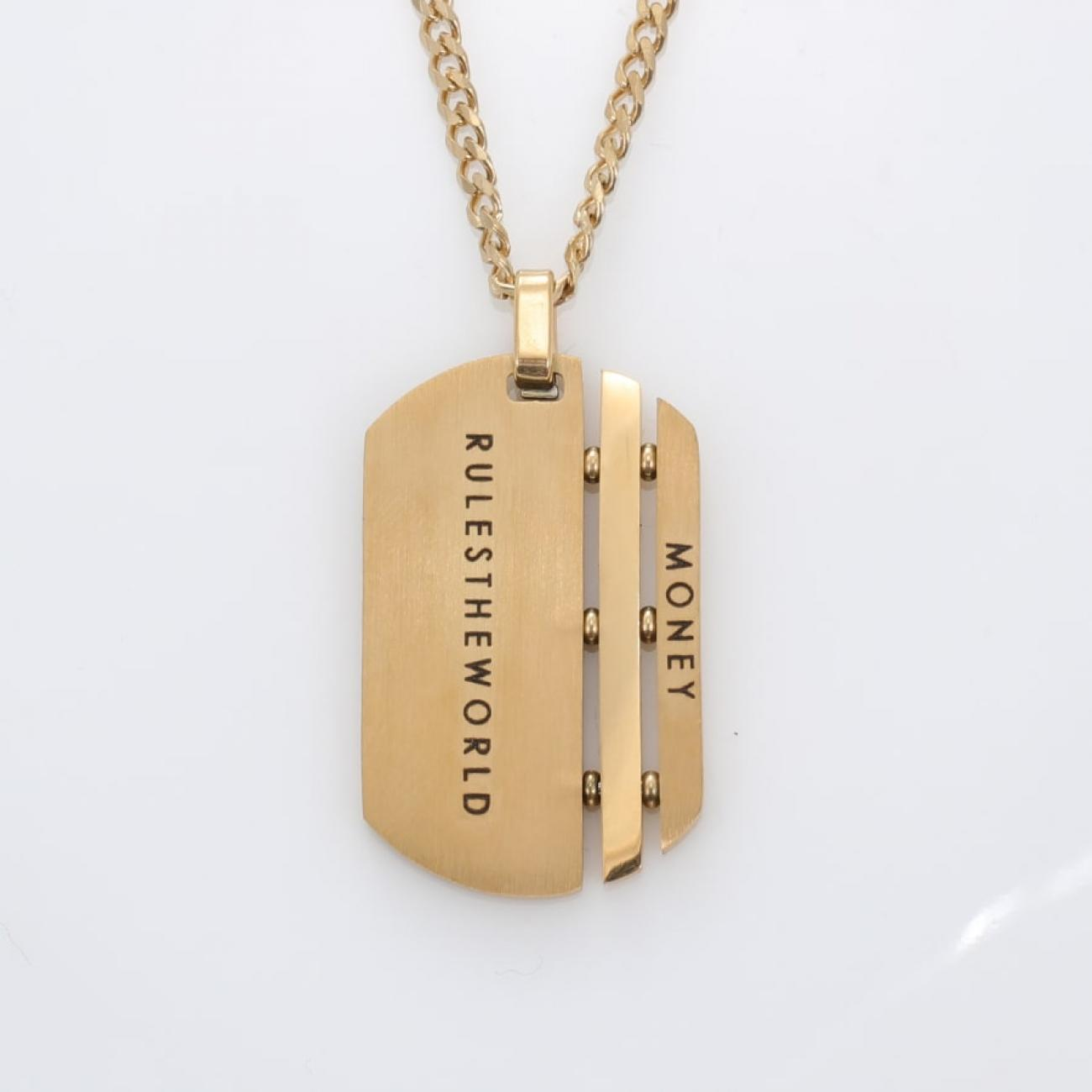 Military Medallion Necklace Dog Tag