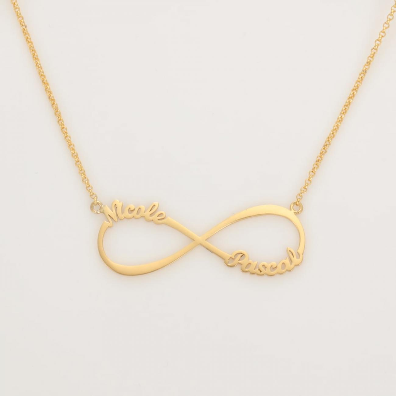 Name Necklace Infinity
